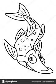 Small Picture Boy Fishing Fish Coloring Page Stock Illustration Image 86598711