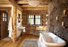 Impressive Rustic Master Bathroom Designs View In Gallery Turn Your Into And Models Design