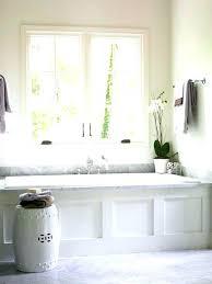 bathtub installation bathtubs tub surround 5 pieces installed taped to hold it there bathtub installation