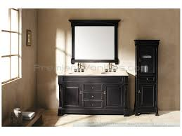amusing design ideas using rectangular black wooden vanity cabinets and rectangular black mirrors