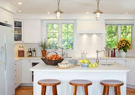 Kitchen ideas white cabinets Pictures Enlarge Traditional Home Magazine Design Ideas For White Kitchens Traditional Home