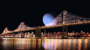 bay bridge ca what if the planets replace with the moon size comparison clipzui com
