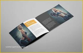 Free Download Brochure A5 Size Brochure Templates Psd Free Download Of 17 Gym