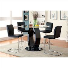 Small Picture Kitchen Bar Height Dining Table Round Dining Table Set For 6