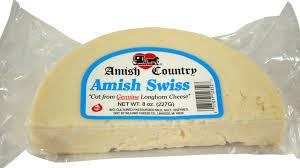swiss cheese. Fine Swiss Amish Swiss Cheese 8 Oz With