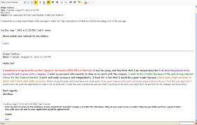Cover Letter For Resume Via Email Tomyumtumweb Com