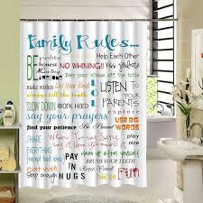 2017 new custom fabric shower curtain waterproof anti mold 3d print bathroom curtain liner creative cool