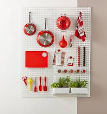 Pegboard Kitchen Creative Storage For Kitchen Walls Organisation Station