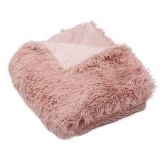 Best 25+ Faux fur blanket ideas on Pinterest | Fur throw, Fur ... & Pink Faux Fur Throw Blanket ($35) ❤ liked on Polyvore featuring home, bed Adamdwight.com