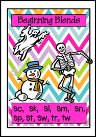 Beginning Blends Picture Charts Set 2