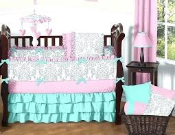 mint green baby bedding c and mint baby bedding pink gray and turquoise baby bedding girls mint green baby bedding