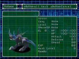 Digimon World 2 All Digimons