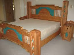 Santa Fe Bedroom Furniture Bedroom Furniture In Southwestern Style Built In New Mexico
