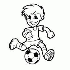 Sport Voetbal Kleurplaten Kleurplatenpaginanl Boordevol Fc