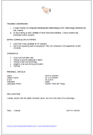 ... Declaration In Resume Sles by Declaration Format For Resume 28 Images  10000 Cv And ...