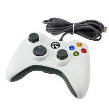 Tay cầm có dây X.box 360 mẫu giá rẻ đèn đỏ - Chơi cực tốt trên PC/Smart  TV/Android TV Box/ Xbox Console