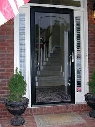 glass storm doors
