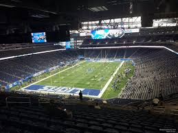 Detroit Lions Seating Chart With Seat Numbers Ford Field Section 321 Detroit Lions Rateyourseats Com