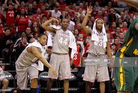 Jared Sullinger, William Buford and David Lighty of the Ohio State...  ニュース写真 - Getty Images