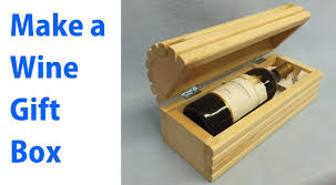 wooden gift box diy wooden wine gift box plans diy free build a
