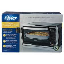 oster tssttvmndg digital large capacity toaster oven black polished stainless meijer com