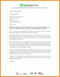 Construction Proposal Letter Examples Of Construction Proposals Goal Goodwinmetals Co 6 Best
