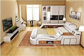 all in one storage. Delighful One All In One Leather Double Bed Frame With Speakers Storage Safe Perfect  Relaxation N For In H