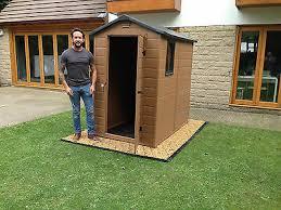 garden shed base kit 3 6 x 2 5m base