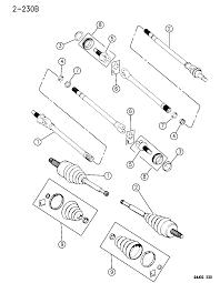 1994 jeep grand cherokee shafts front axle diagram 00000dj4