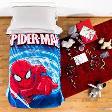Marvel Spiderman Quilt - Carillo Home & Disney Spiderman quilt Adamdwight.com