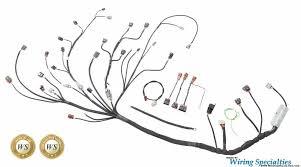wiring specialties pro engine tranny harness for s14 sr20 sr20det wiring specialties sr20det pro harness at Sr20det Wiring Harness Install