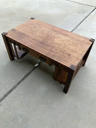 post 1950 oak coffee table vatican