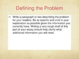 problem solution essay 3