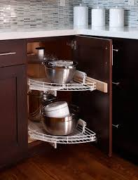 Kitchen Lazy Susan Cabinet 30 Corner Drawers And Storage Solutions For The Modern Kitchen