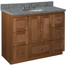 20 Vanity Cabinet Simplicity By Strasser Shaker 42 In W X 21 In D X 345 In H
