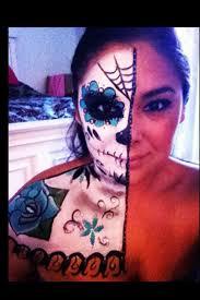 dia de los muertos sugar skull by very310