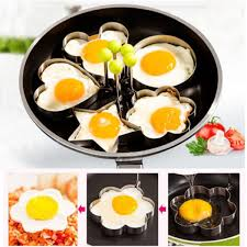 Cool Pancake Designs Us 0 76 15 Off Stainless Steel Cool Design Pancake Mold Ring Cooking Fried Egg Shaper Kitchen Tool Poached Egg Mold In Other Cookware Parts From