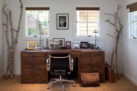 decorated office. Farmhouse Office Decorated With Simple Tree Branches Decorated Office