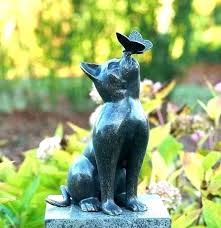 cat garden statue garden cats statues cat statues for garden cat garden ornament outdoor cat statues