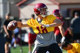 Usc 2018 Depth Chart Jt Daniels Named Starting Quarterback And Other Usc Depth