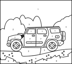 Discover the world in color. Vehicles Coloring Pages