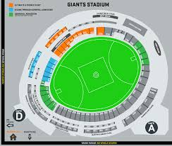 Giants Stadium Football Seating Chart Stadium Maps Giants Membership
