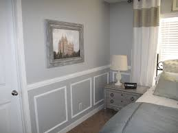 6+Master+Bedroom+After+with+Wainscotting+chair+rail+valspar+ ...