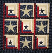 9 best images about Dads quilt on Pinterest | Helicopters, Quilts ... & Stars and Stripes Log Cabin Quilt Pattern with Adamdwight.com