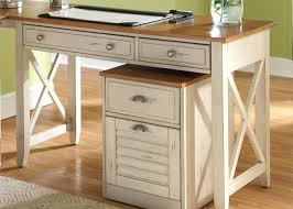 white desk home office. Interesting Office White Desk Table With Drawers The Typical Of Pine Wood Classic Home Office  Furniture Rustic   Inside White Desk Home Office N