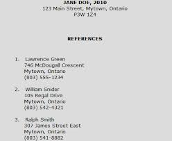 resume reference page reference page example the parts of a resume parts of a resume