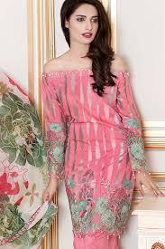 Gul Ahmed Festive Eid Collection 2017-18 Lawn, Silk \u0026 Chiffon Dresses