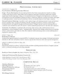 Director Of Marketing Resume Examples 10 Marketing Resume Samples
