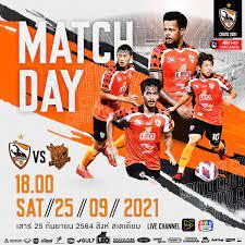 Chiang Rai United FC - 🏆✴ MATCH DAY #คุณไม่หยุดเชียร์เราไม่หยุดสู้ สิงห์ เชียงราย  ยูไนเต็ด vs พีที ประจวบ เอฟซี 🗓วันเสาร์ ที่ 25 กันยายน 2564 🕰 เวลา 18.00  น. 🏟 สนามสิงห์ สเตเดียม 🎥 AIS PLAY ,