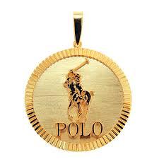 cpy152608 1 custom fluted bezel polo pendant
